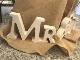 MENUISERIE MATZ FRÈRES - LE MUY - LETTRAGE MR ET MME - MARIAGE