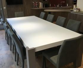 MENUISERIE MATZ FRERES - LE MUY - TABLES ET CHAISES SUR MESURE